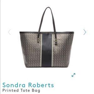 Sondra Roberts Printed Tote Bag